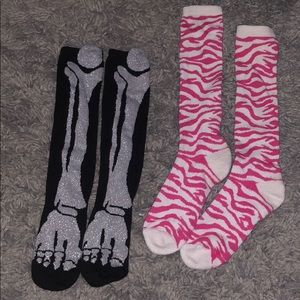 Printed Long Socks